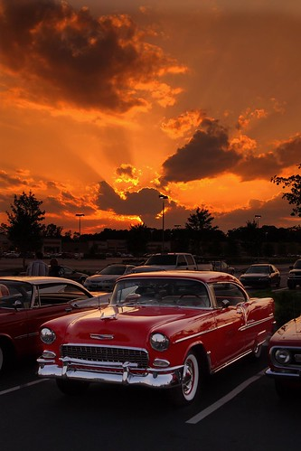 Sunset,  Time for crusin'