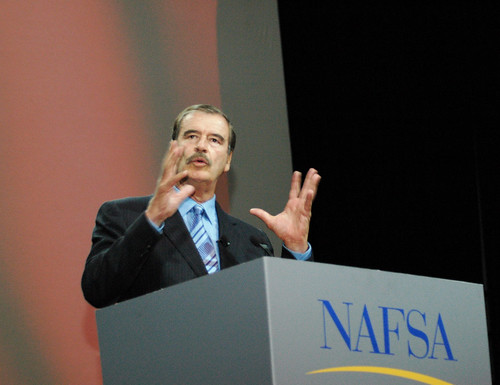 Vicente Fox at NAFSA 2008