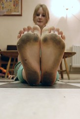 #80 (evilibby) Tags: feet girl foot squares dirty human libby feets 365 morris woolmarket dirtyfeet 365days dirtyfeets thewoolmarket twtmesh180835