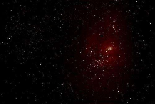 M8 Lagoon Nebula ED100Sf ISO400 11min54sec 8frames