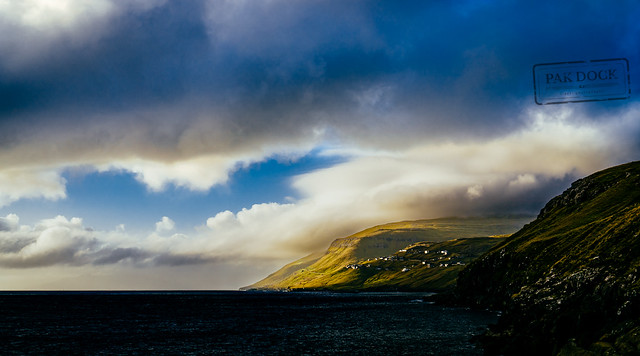 Sunset at Velbastaður - Faroe Islands