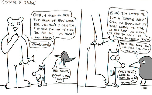 366 Cartoons - 098 - Coyote and Raven