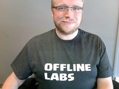First Offline Labs shirts