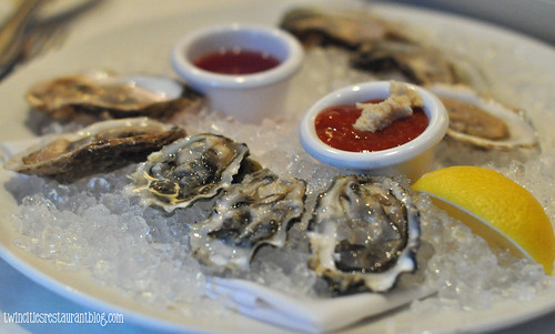 Large Oyster Sampler at McCormick & Schmicks ~ Maplewood, MN