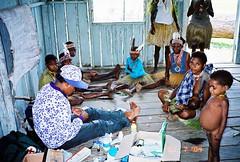 Kaisenar, Papua (Mangiwau) Tags: indonesia tribal tribe papua ethnic indigenous malnourished newguinea westpapua irja malnutrition melanesia pacifique keerom koteka indigene oceanie jayapura irian irianjaya papuabarat papouasie melanesian bupati kaisenar nouvelleguinee