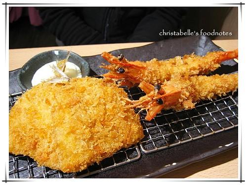 晃士家組合套餐(大蝦+20)