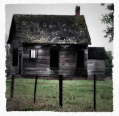 abandoned through and through (McMorr) Tags: old family house abandoned home rural october decay farm country neglected eerie iowa spooky forgotten weathered disused homestead tribute discarded forsaken deserted abused fallingapart deteriorating creativenonfiction mcmorr