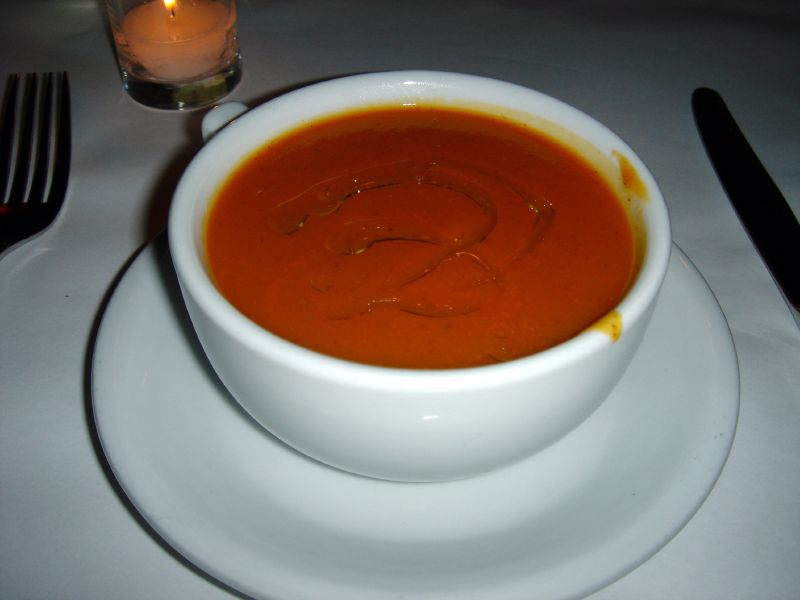 Cinnamon Spiced Ginger Carrot Soup