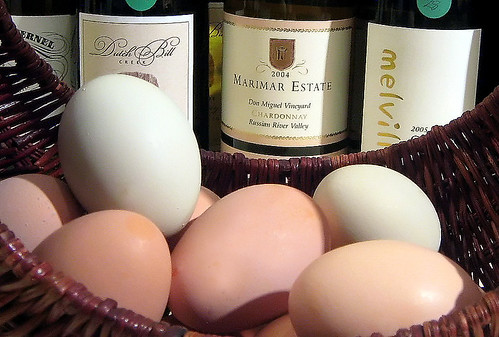 Farm Fresh Eggs and Booze