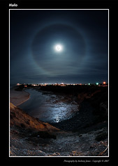 Halo (VJ Spectra) Tags: sky moon beach clouds halo adelaide portnoarlunga nikkor105mmf28edfisheye