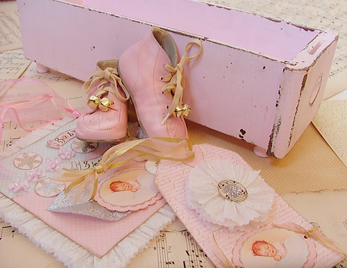 shabby chic pink box