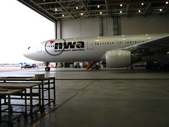 Northwest A330 (ademrudin) Tags: nwa northwestairlines airbusa330 compositeshop canonpowershots3is