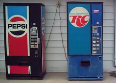 Pepsi or RC? (OK Photos) Tags: new mexico state cola royal machine line crown pepsi soda rc hobbs