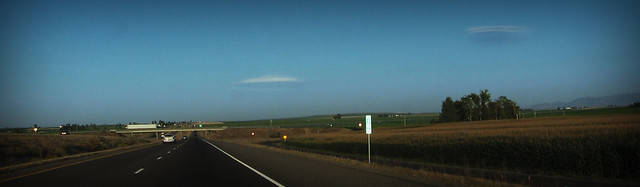 Odd Ufo-like Clouds over Idaho