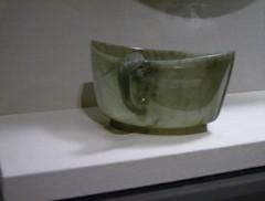 nephrite elliptical cup (sftrajan) Tags: sanfrancisco museum digital asian muse jade mineral museo muzeum asianartmuseum 2007   islamicart  nephrite   persianart  iranianart averybrundagecollection