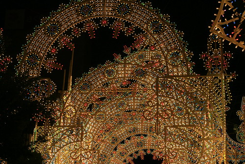 arch of lights