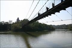 峨眉湖吊橋12