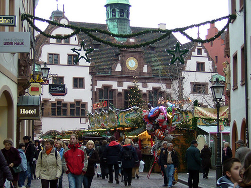 Christmas Market, Freiburg, Germany