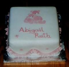 Cacen bedydd Abigail Ruth (MorfuddNia) Tags: cake christening cacen christeningcake bedydd cacenbedydd