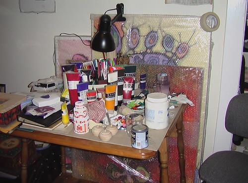 Where I paint!