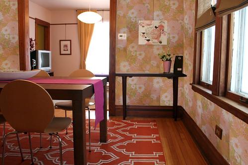 Dining Room Wallpaper Mockup