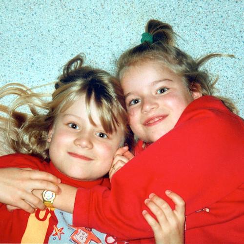 Annina+Mara Dezember 1995