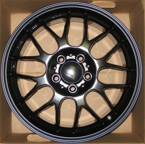 Semi Gloss Black Wheels in Satin/semi Gloss Black How
