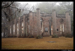 Old Sheldon Church - Beaufort, SC (Sco C. Hansen) Tags: old wedding sc church ruins southcarolina spooky beaufort sheldon lowcountry takeabow yemassee oldsheldonchurch beaufortcounty scotthansen anawesomeshot diamondclassphotographer flickrdiamond flickersbest