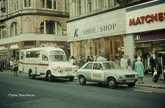 The Royal Life on Mars in a Heartbeat! (Lady Wulfrun) Tags: street new west k austin bedford shoe birmingham police an ambulance service british morris emergency 1977 metropolitan midland leyland midlands allegro attend wimbush c211 nog90r gob471l kshoe
