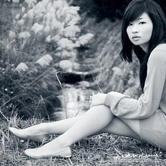 Eve (AehoHikaruki) Tags: portrait people blackandwhite bw girl beautiful asian nice interesting asia photos sweet album great chinese taiwan taipei lovely
