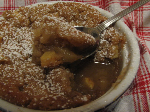 Apple Caramel Self-Saucing Pudding