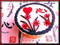 Heart (~Trs Chic Cupcakes by ShamsD~) Tags: red white black by southafrica cupcakes candy heart african south chinese tres chic proudly sweettreats designercupcakes shamsd shamimadesai madeinsouthafrica cupcakesinsouthafrica cupcakesfromsouthafrica cupcakesinpietermaritzburg weddingcupcakesinsouthafrica weddingcupcakesinpietermaritzburg