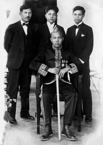 Pangeran, Hasan, Husen, Haroen
