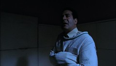 Adrian Monk in a straitjacket
