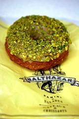 Balthazar Bakerys Pistachio Donut