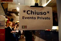 *CHIUSO* Evento Privato