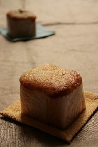 muffin: marmalade / apricot jam