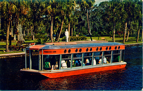 Glass-Bottomed Boat, Silver Springs, Florida, c. 1960