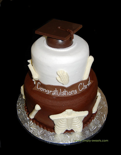 x-ray technician graduation cake