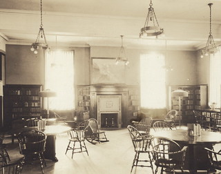 Mount Pleasant Library ca. 1925