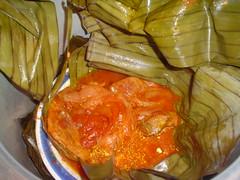 Cochinita pibil recién cocinada