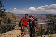 Grand Canyon Conquered (angelatravels11) Tags: angel bright south grand canyon hike trail rim 20080402 backpackingthegrandcanyon