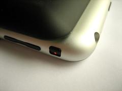 De Mophi Juice CPack is aan de achterkant minder lang dan de iPhone zelf. Hij biedt daardoor geen volledige bescherming.