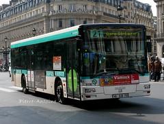 MAN NL223 A21 RATP n9190 (Pi Eye) Tags: man paris bus 21 autobus iledefrance idf ratp parisien stif ligne21 nl223