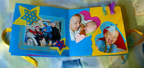 A quick scrapbook for the grandparens