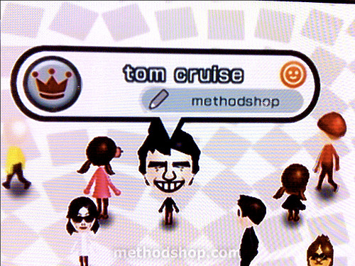 How to Make a Tom Cruise Mii for the Nintendo Wii [tutorial]