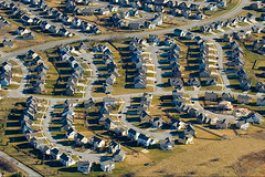conventional suburbn development (courtesy of government of Ontario)