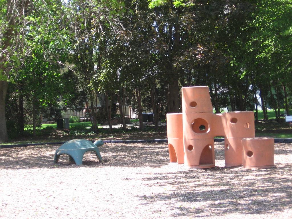 Jefferson Elementary School playground