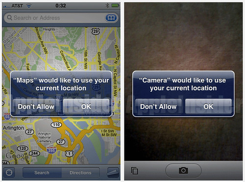 Geotagging on the iPhone