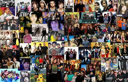 cool bands: all time low ,cobra starship & paramore by inkyfurreal.